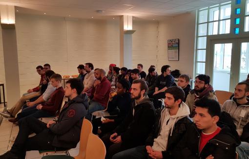 Nos étudiants des formations techniques ont participé à l'Agoria Company Tour