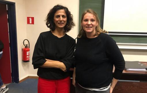 Marie Arena, députée européenne, à l'EPHEC pour une conférence avec nos étudiants en Droit