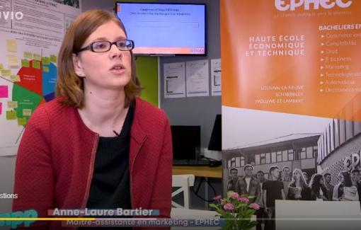 Notre collègue Anne-Laure Bartier interviewée par