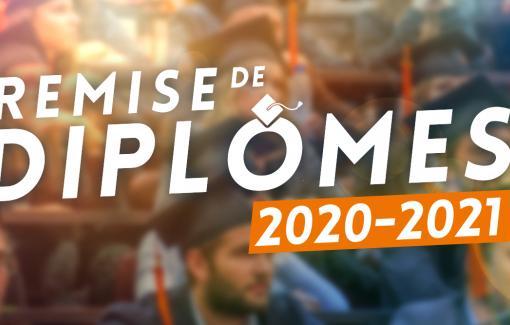 Haute Ecole : Remise des diplômes à la promotion 2021