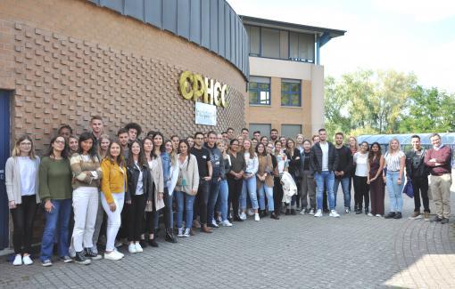 L'EPHEC accueille ses ERASMUS