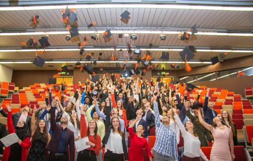 Félicitations à nos 746 nouveaux diplômés !
