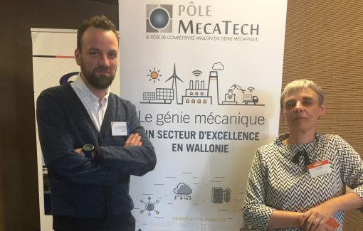 Une délégation de l' EPHEC à l'événement MecaTech4.0