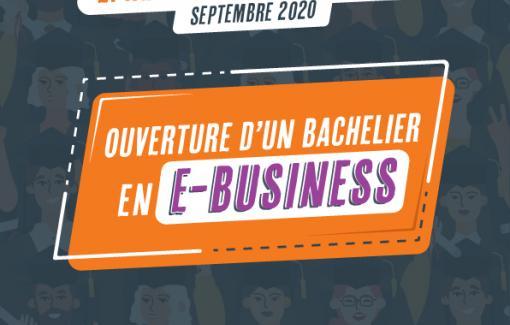 Les cours du bachelier en e-Business dispensés à Louvain-la-Neuve dès cette rentrée !