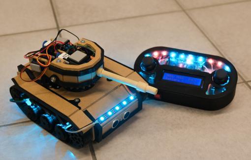 ArduiTank : un des projets du cours de Robotique en Automatisation