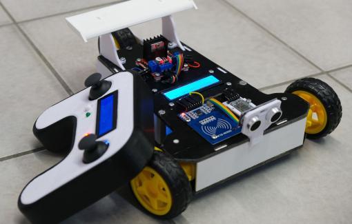 Le bachelier en Automatisation, de la théorie à la pratique ou la réalisation d'un robot télécommandé