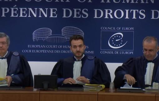 Les étudiants en bloc 3 du bachelier en Droit en visite à Strasbourg