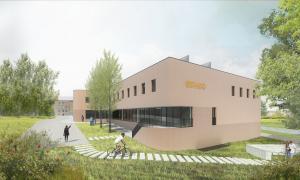 Novembre: projet d'extension du bâtiment de LLN.