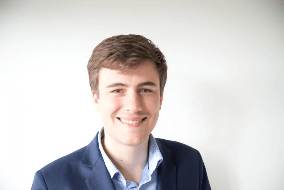 Martin Withoeck, diplômé 2016